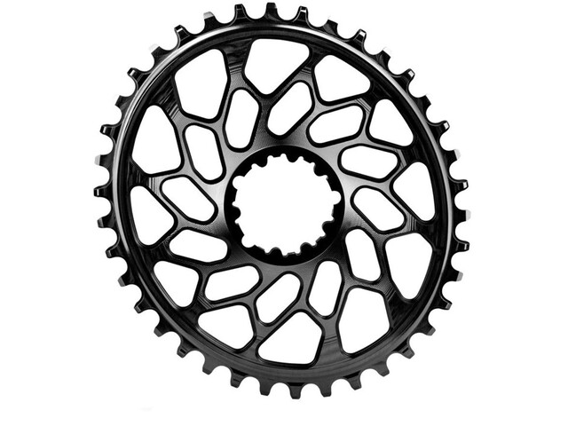 absoluteBLACK Cyclocross Oval Chainring for SRAM XX1 Spiderless black